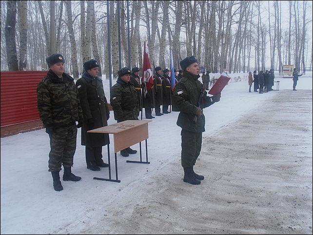Войсковая часть 6720 внутренних войск МВД России, дислоцирующаяся в Рубцовске, отмечает 35-летие образования