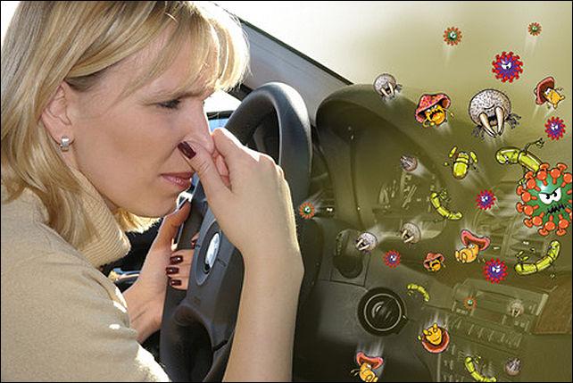 Чистим кондиционер в машине