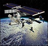 Астронавты повредили внешнюю платформу МКС