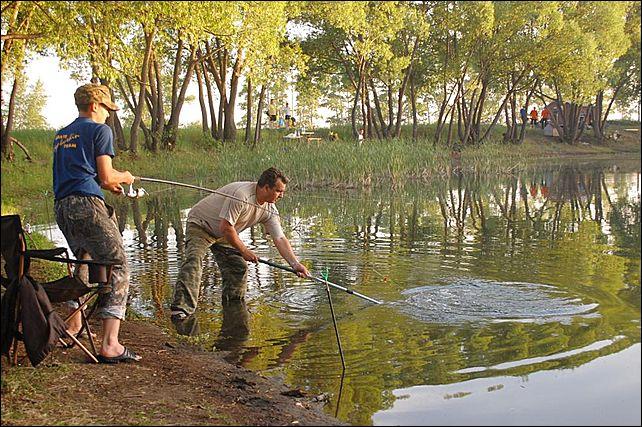 ловля на прудах за плату