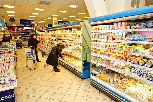 Самый дорогой и самый дешевый продуктовые магазины в Москве