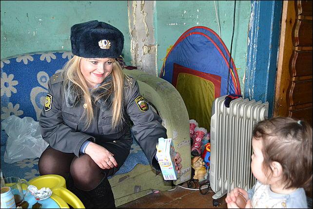 Объявлена благодарность инспектору татьяне гребенкиной