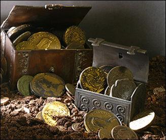 В израиле дайверы нашли самый большой в стране клад золотых .