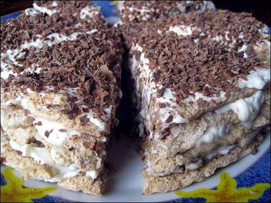 рецепт приготовления торта. рецепт быстрого приготовления тортов.