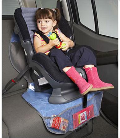 Кресло для детей в машину своими руками 42