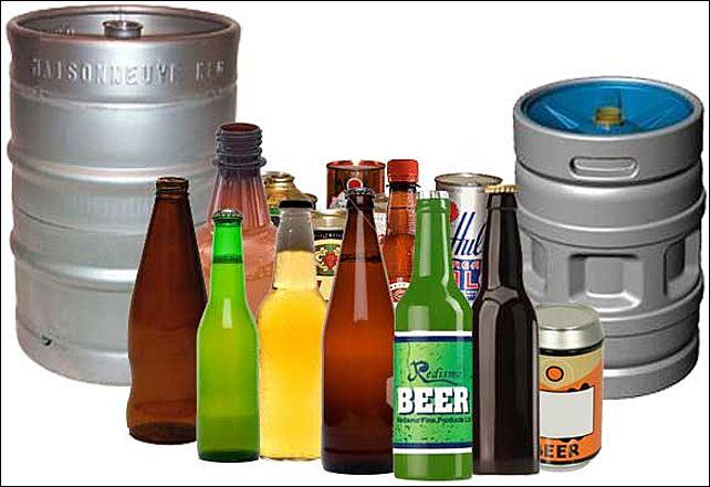 Оборудование для розлива пива в стеклянные и пэт бутылки