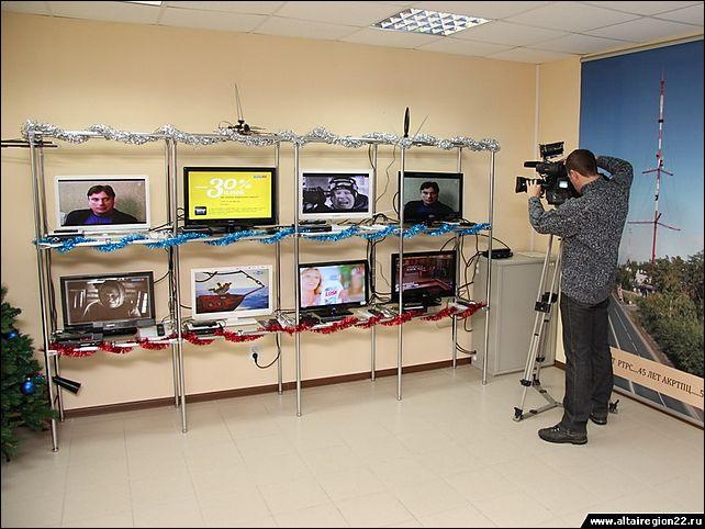 Цифровое телевидение в алтайском крае