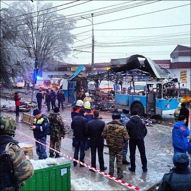 В Волгограде снова погибли люди от нового теракта
