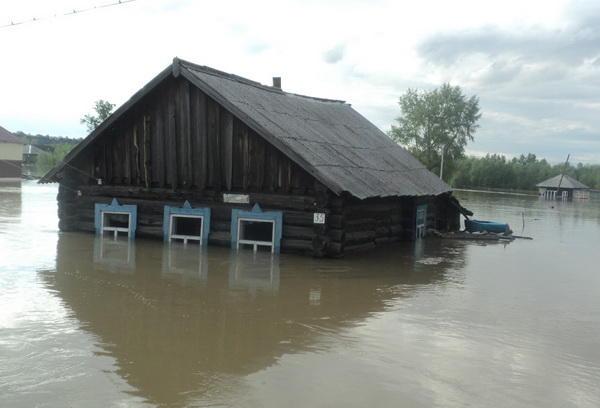 Районы попавшие под наводнение алтайского края