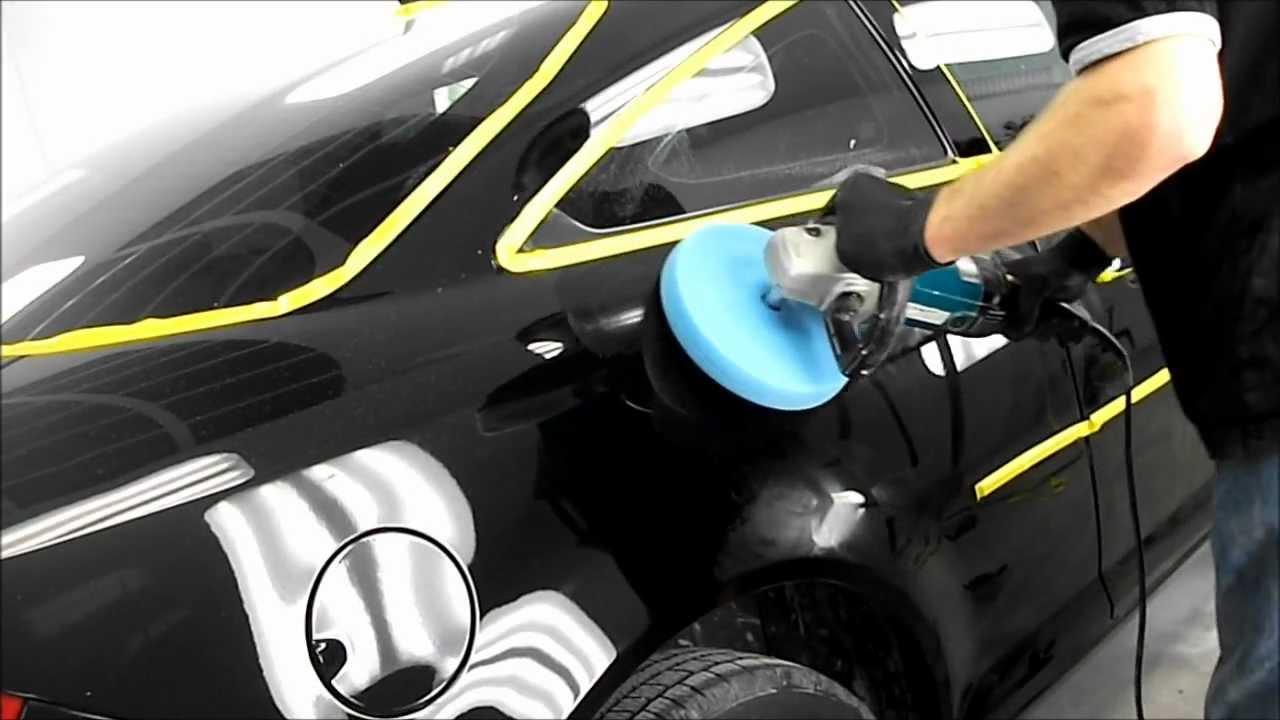 Полировка черного автомобиля своими руками 545