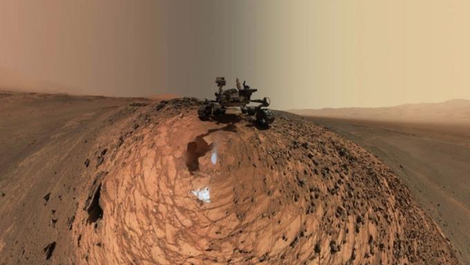 Curiosity прислал новое селфи сМарса