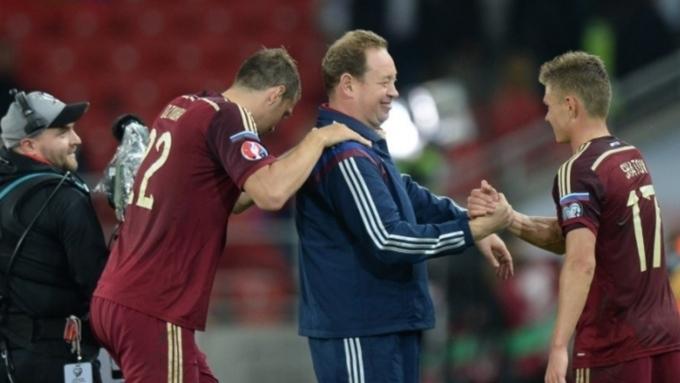 Российская команда по футболу занимает 23 место в мировом рейтинге ФИФА