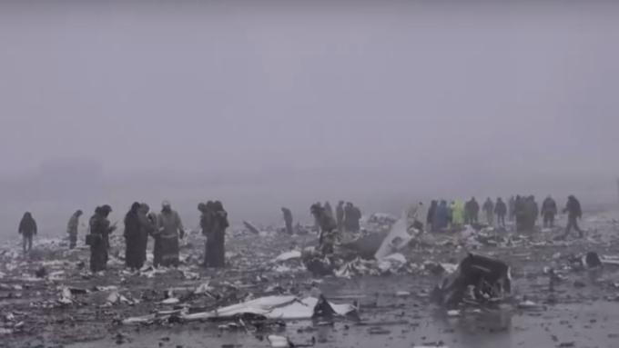 УBoeing 737 замерз руль высоты