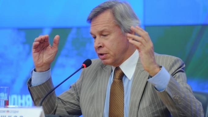 Алексей Пушков прокомментировал реакцию США на«перехват» русским Су-27 самолёта-разведчика