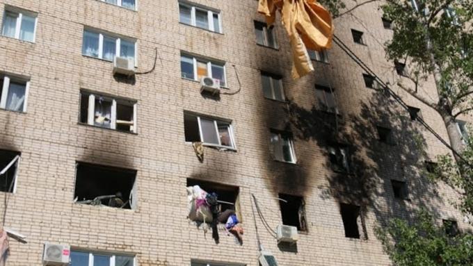 После взрыва газа вдоме вСаратовской области эвакуировали 188 человек