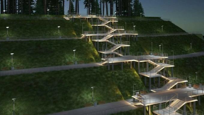 фото нагорный парк барнаул