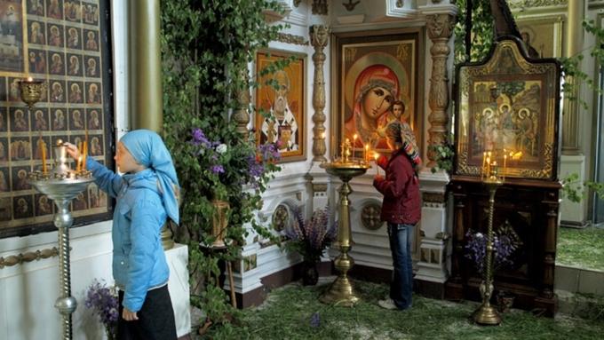 Традиции праздник пресвятая троица 152