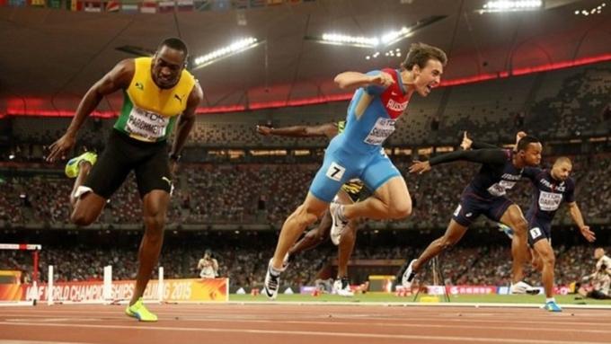 Маклеод одержал победу ОИнадистанции 110 метров сбарьерами
