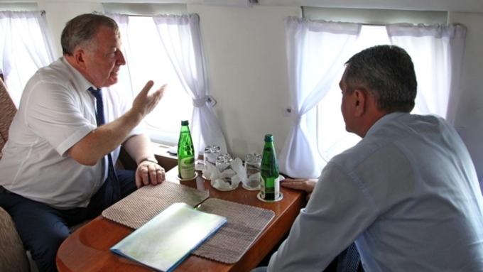 Полпред Меняйло заинтересовался турпотоками вГорный Алтай