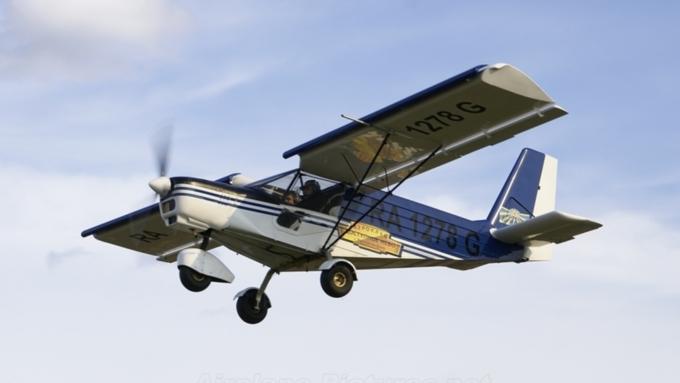 ВРостовской области упал легкомоторный самолет