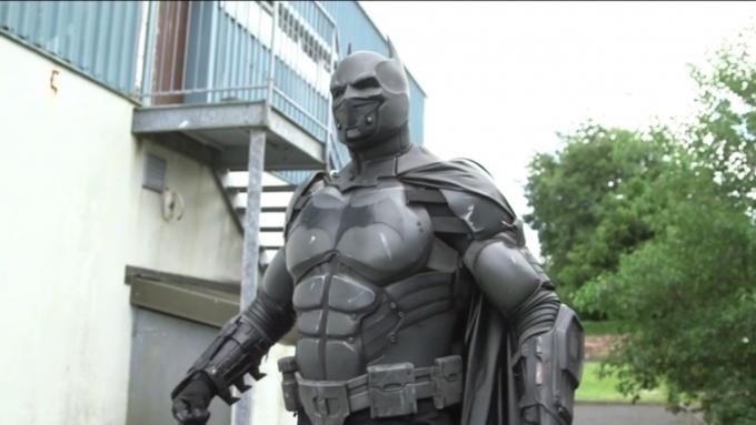 Работающий костюм Бэтмана занесен вКнигу рекордов Гиннеса
