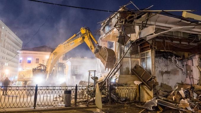 В столице вовторую волну сноса устранили неменее 90 объектов самостроя