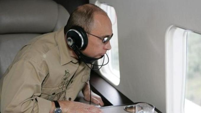 Путин провел выходные вГорном Алтае