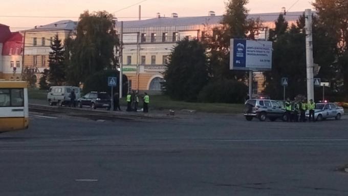 Вцентре Барнаула насмерть сбили велосипедиста: комментарий ГИБДД