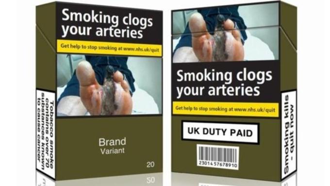 Введение цельного дизайна сигарет в РФ начнут снекурительных табаков