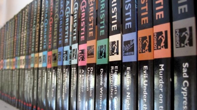 Романы Агаты Кристи лидируют среди остальных произведений детективного жанра