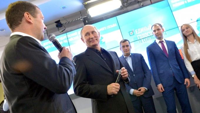 Медведев: «Единая Россия» будет иметь большинство в государственной думе