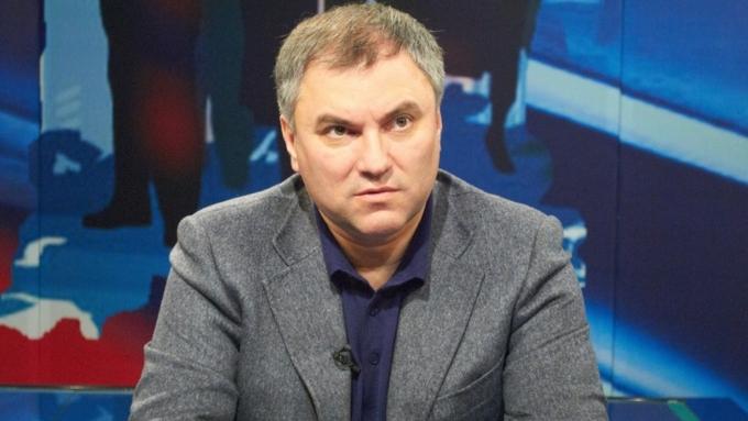 Владимир Путин предложил напост спикера Государственной думы Вячеслава Володина