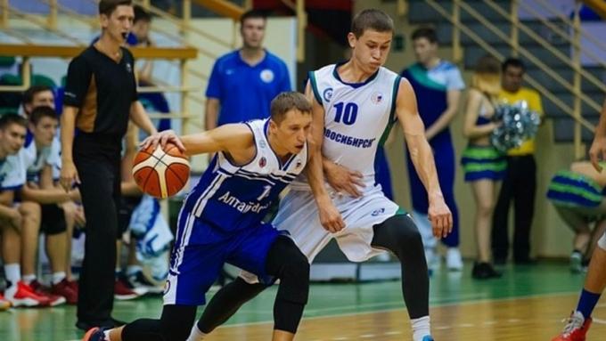 «АлтайБаскет» стартовал в Кубке Сибири с поражения от «Новосибирска»