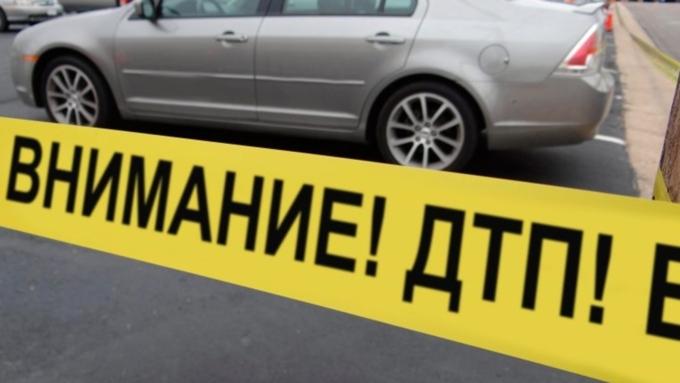 ВБурятии иностранная машина протаранила служебный автомобиль милиции
