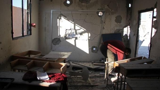 Իդլիբի դպրոցին հասցված հարվածի հետեւանքով քսաներկու երեխա է զոհվել