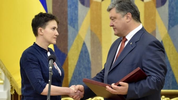 Савченко ответила тем, кто еераскритиковал завизит в российскую столицу