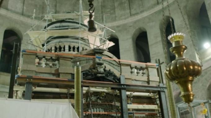 Гроб Господень оказался неповрежденным— Археологи