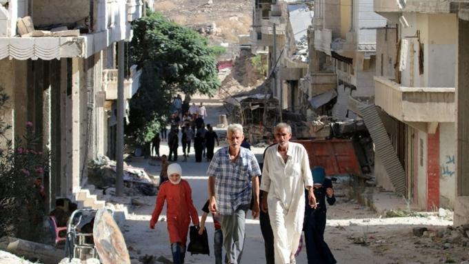 Врайоне сирийского Алеппо ранены двое русских военнослужащих