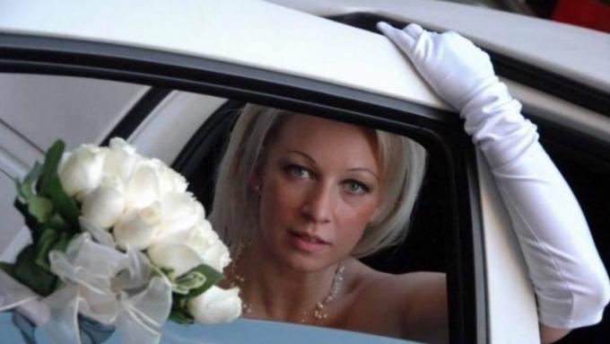 Мария Захарова рассказала о своей свадьбе в Нью-Йорке