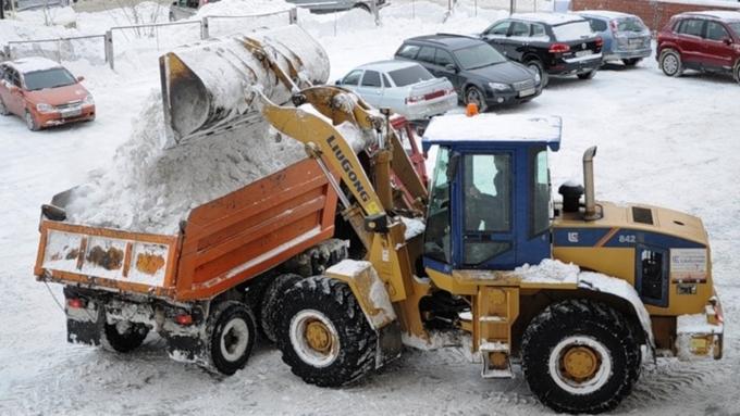 Сулиц Барнаула вывезли 1 600 тонн снега