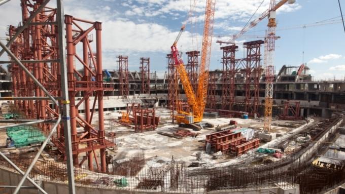 Рабочий умер при строительствеТЦ «Леруа Мерлен» вБарнауле