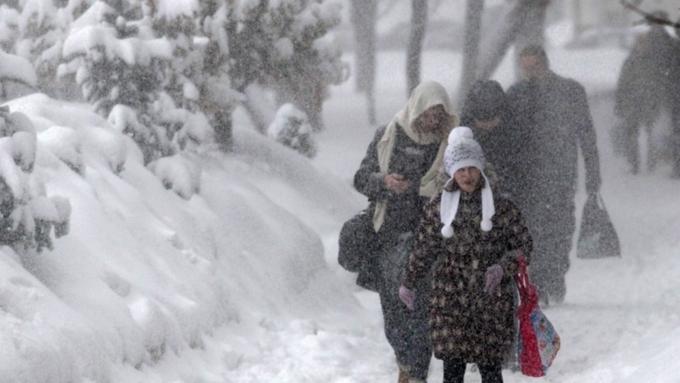 Штормовое предупреждение из-за морозов объявлено вАлтайском крае