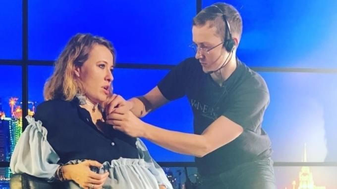 Ксения Собчак призналась, что она желает родить своего первенца именно в РФ