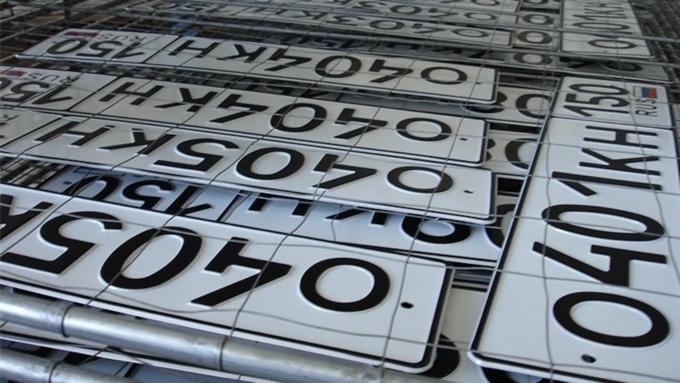 В Российской Федерации могут появиться новые автомобильные имотоциклетные номера