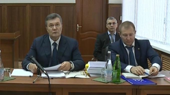 Допрос Януковича поделу обубийствах наМайдане сорвался