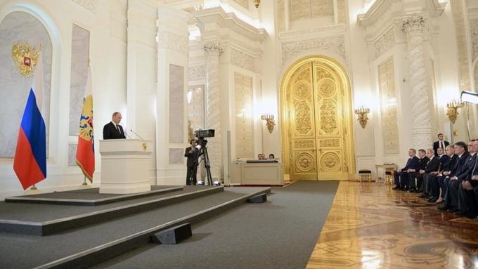 Песков: Путин обсудит письмо Федеральному собранию счленами Совбеза