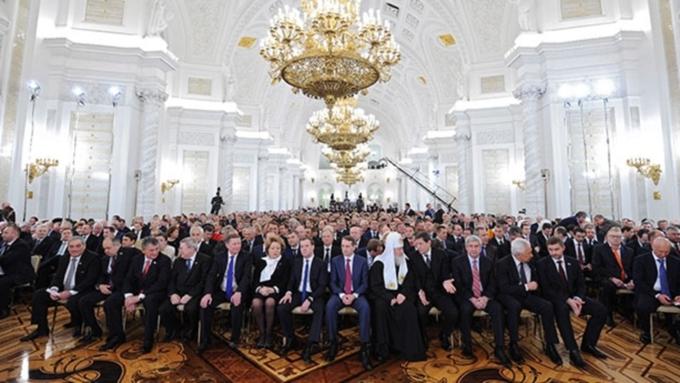 Путин обратится спосланием кФедеральному Собранию