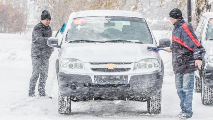 Плюсовая температура иснежный шторм сдождем ожидают Алтайский край 4декабря