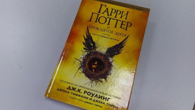 В РФ стартовали продажи книги «Гарри Поттер ипроклятое дитя»