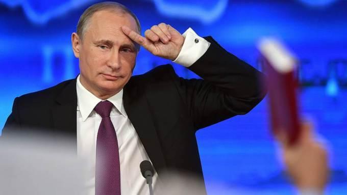Огромная пресс-конференция Президента Российской Федерации В. Путина пройдет сегодня в столицеРФ